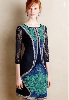 New Anthropologie by Ranna Gill Indrani Lace Dress sz XS  | eBay