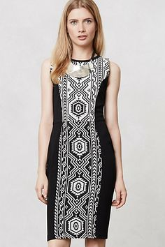 Alegre Pencil Dress #anthropologie