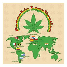 Weed Prohibition Around the World: The List of Weed Friendly Countries to Visit! #allbud #marijuana #cannabis #weed #news #ending #prohibition #medicalmarijuana #legalization #legalizemarijuana #use #enjoy