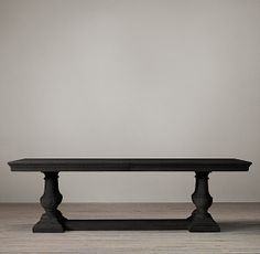 St. James Rectangle Dining Tables-It comes with leaves!! Love the finish.