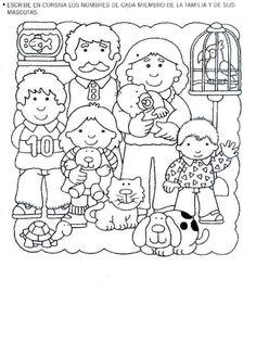Letramanía nº 3 – Kiss Virág – Webová alba Picasa Preschool At Home, Preschool Themes, Learning English For Kids, Teaching English, Spanish Activities, Activities For Kids, Make Tutorial, Teaching Aids, Colouring Pages