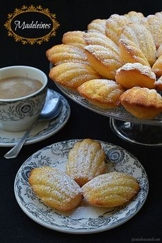 Con sabor a canela: Madeleines French Dessert Recipes, Mexican Food Recipes, Sweet Recipes, Cookie Recipes, My Favorite Food, Favorite Recipes, Cupcake Cakes, Cupcakes, Cookies Decorados