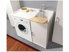 A.02 Mobile lavabo / lavatoio per lavatrice