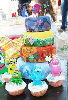 Yo Gabba Gabba Birthday party…