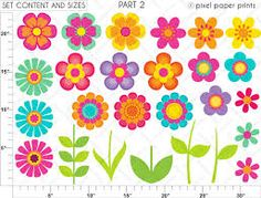 clipart flowers - Google Search