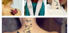 I tatuaggi femminili più belli