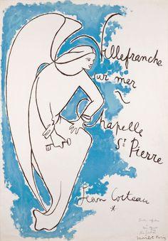 Jean Cocteau: Villefranche-sur-mer – Chapelle St Pierre, 1957.
