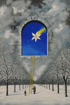 Magical Transparency of Time by Rafal Olbinski - DaVinci Emporium The Washington Times, Rene Magritte, Nocturne, Surreal Art, Art Forms, New York Times, Nostalgia, Fine Art, Fantasy