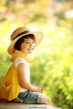 59bf30f628e This little girl looks the picture of spring Yellow Dress