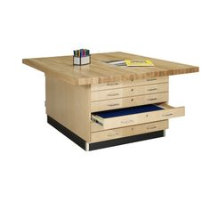 Diversified Woodcrafts Four Station Wood Top Workbench