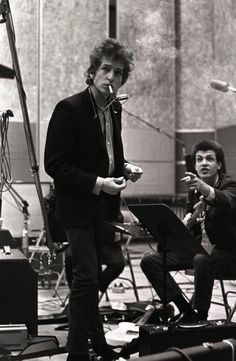 Bob Dylan and Michael Bloomfield