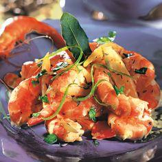 Crevettes créoles | Recette Minceur | Weight Watchers
