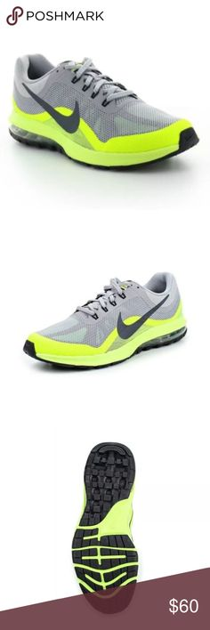 Nike Air Max Dynasty 2 Running Shoes - (Gray/Lime) ** this item is new without the box** Nike Air Max Dynasty 2 Running Shoes - (Gray/Lime) 852430-008 Leisure Item specifics  Condition:  New without box: A brand-new, unused, and unworn   Width:  Medium (D, M) Style:  Running, Cross Training  US Shoe Size (Men's):  10.5 Color:  Gray/Lime   UPC:  852430-008  Material:  Synthetic  Product Line:  Nike Air Nike Shoes Sneakers