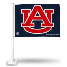 Auburn Car Flag, Orange