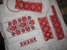 Belarusian traditional embroidery.