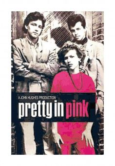 John Hughes Pretty In Pink Movie Poster PDF Cross-Stitch Pattern