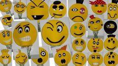 Gorros divertidos de Emoticonos en Goma Espuma