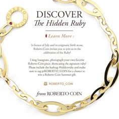 Let the Ruby Races begin!  Kleinhenz Jewelers.  440.892.1020.