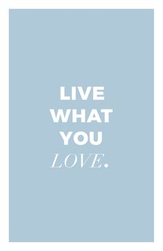 Do what you love. And live like that. Love is (the) key! Cotton Bag, Deck Of Cards, Change The World, Key, Colour, How To Plan, Love, Poster, Hands