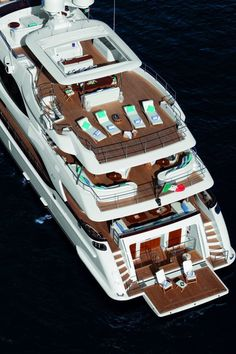 Benetti Yachts- This is just like the boat i got to work on last summer! Loved it again what an experience.