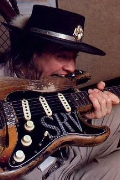 Stevie Ray Vaughn ... the one and ONLY