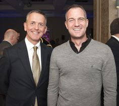 The Grand Hotel's General Manager Andrew Mosley and Hove MP Peter Kyle Grand Hotel, Brighton, Product Launch