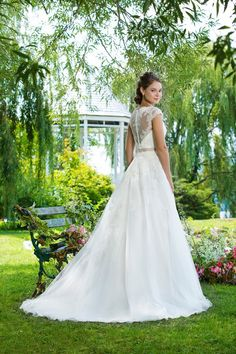 Wedding gown by Sweetheart