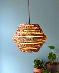 lamp van karton ombo light Luuxoo
