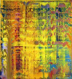 gerhard richter paintings   Contemporary Art Blog   Gerhard Richter Abstract Painting, 1997 ...