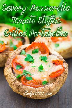Stuffed Grilled Portabellas