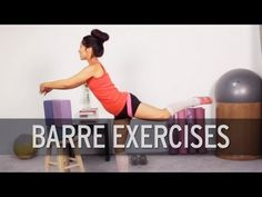 15JUN13 Ballet Barre Workout This is a very basic workout but good for days Im not feeling like bouncing around to get my heart rate up. This will do the trick still. Check out other workouts from this channel at XHIT DAILY on Youtube!