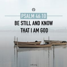 "God's care is the certainty we take into life's uncertainties. ~ Life is unpredictable. There are countless things I can never know with certainty. What I can know, however, is that there is a God who knows all and loves me deeply. And by knowing Him, I can ""be still""—I can be at peace."