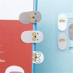 SEAL Smile Tab Bookmarks Post-it Sticky Adhesive Note Memo Pad 50EA Set   eBay