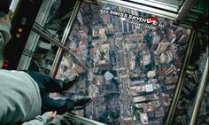 skydive in an elevator. #advertising.