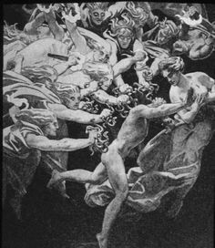 """In Greek mythology the Erinyes; """"the avengers"""" —sometimes referred to as """"infernal goddesses"""" were female chthonic deities of vengeance. Description from pinterest.com. I searched for this on bing.com/images"""