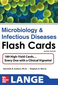 Bestseller Books Online Lange Microbiology and Infectious Diseases Flash Cards, Second Edition (LANGE FlashCards) Kenneth D. Somers, Stephen Morse $30.81