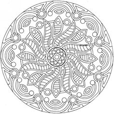 printable detailed mandala coloring pages mandalas to color coloring pages for grownups