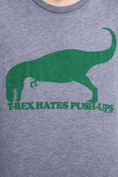 Urban Outfitters - T-Rex Hates Push Ups Tee