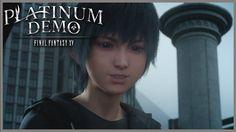 Final Fantasy XV  Platinum DEMO PS4