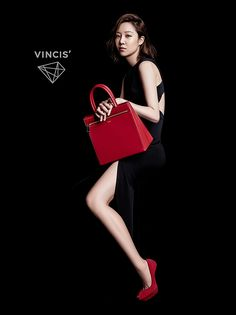 VINCIS' F/W 2015 Ad Campaign Feat. Gong Hyo Jin   Couch Kimchi