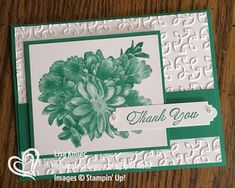 Stampin' with Lisa: 2016-2018 In Color Collection Stampin' Up! Heartfelt Greetings 2018 Sale-A-Bration Emerald Envy