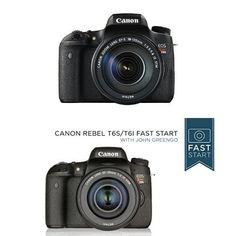 Canon EOS Rebel T6s Digital SLR with EF-S 18-135mm IS STM Lens - Wi-Fi Enabled w/ Fast Start Course...