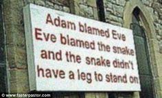 hahahahaha...maybe a little corny but we still love it! #funny #christian #humor
