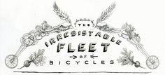 the market gardener | the irresistible fleet of bicycles