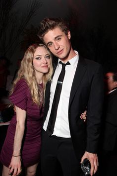 Amanda Seyfried and Max Irons at the Los Angeles premiere of Red Riding Hood on March 7, 2011.