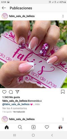 Semi Permanente, Nail Polish Designs, Summer Nails, You Nailed It, Manicure, Nail Art, Samara, Beauty, Long Nails