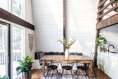 Danielle and Ely Franko spend their weekends in this Catskills cabin they renovated themselves.