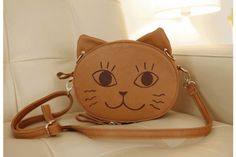 Cute Kitty Faces Bag (Change the mood of the cat!)  ($30) http://nvy.gd/18g1Zok