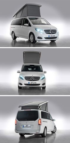The new Mercedes-Benz Marco-Polo is a compact camper van which combines quality, homeliness and comfortable practicality.