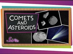 Comets and Asteroids! by scishow: Our journey through the solar system continues, as Jessi gives you a close look at comets and asteroids! SOURCES:Comets and meteors Space Object Differences Explore Asteroids, Comets and Meteors Wishing on a meteorite! NEO Images Support SciShow on Patreon